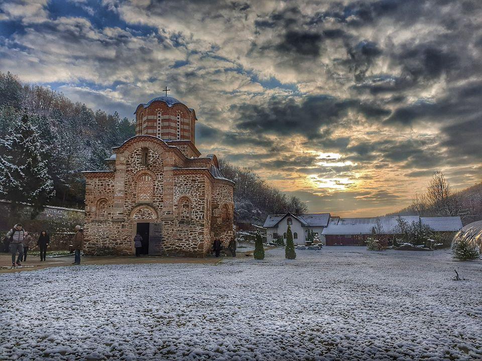 Манастир Дренча, XIV век